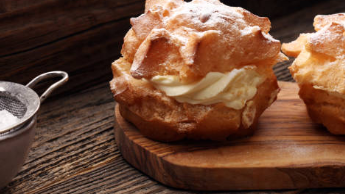 Luscious Creamy Puff for Upscale Cafè
