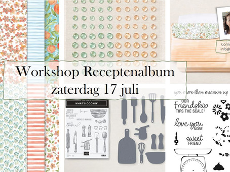 Workshop Receptenalbum