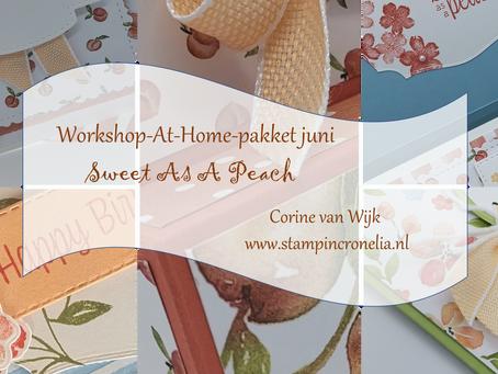 "Workshop-At-Home-Pakket juni ""You're A Peach"""