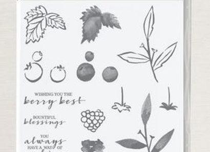 Berry Blessings stempelset