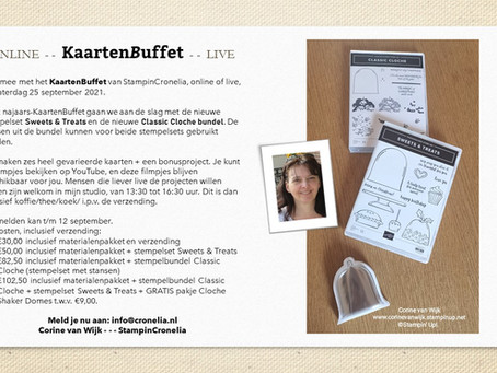 KaartenBuffet, zowel online als live