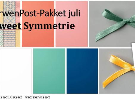 VerwenPost-Pakketten in juli: heel veel kleur