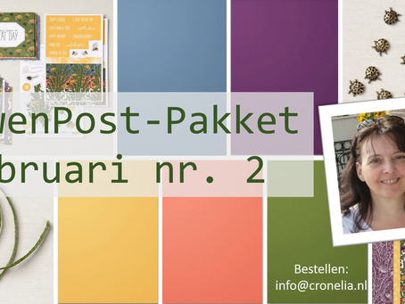 """Februari 2021 VerwenPost-Pakket nr. 2 """"Dandy Garden"""""""