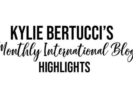Kylie's International Blog Highlight augustus 2020
