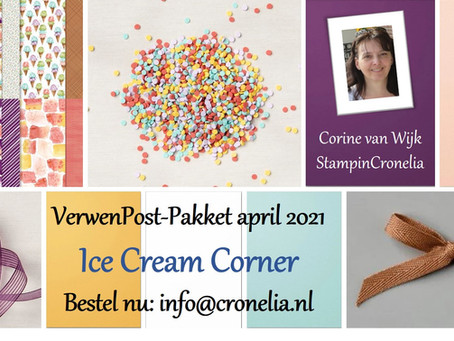 VerwenPost april: Ice Cream Corner en In Colors 2019-2021