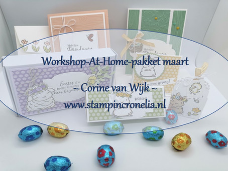 "Workshop-At-Home-Pakket van maart 2021 ""Springtime Joy"""