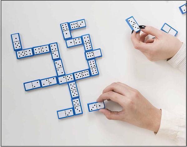 Votre texte est comme un jeu de dominos