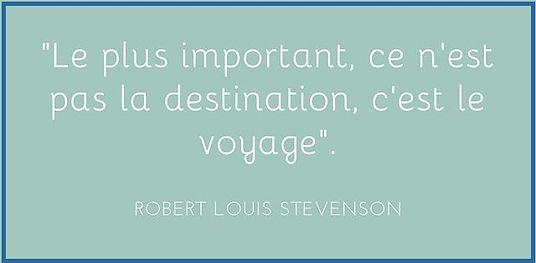 le voyage plus important que la destination