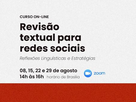 Revisão Textual para Redes Sociais: reflexões linguísticas e estratégias
