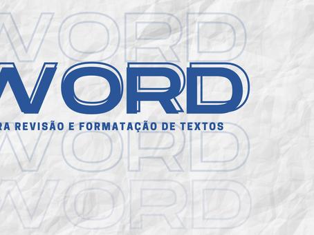 Word prático para revisão e formatação de texto