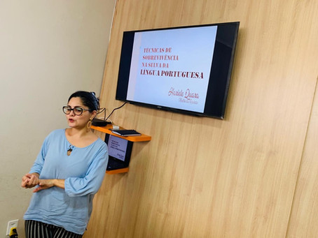 Portal Amazonas 1 recebe palestra e assessoria linguística
