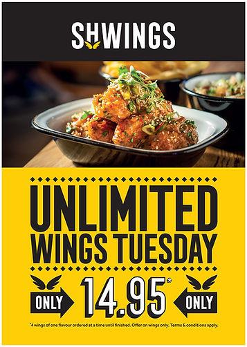 13018 Shwings Unlimited wings A Board Fe