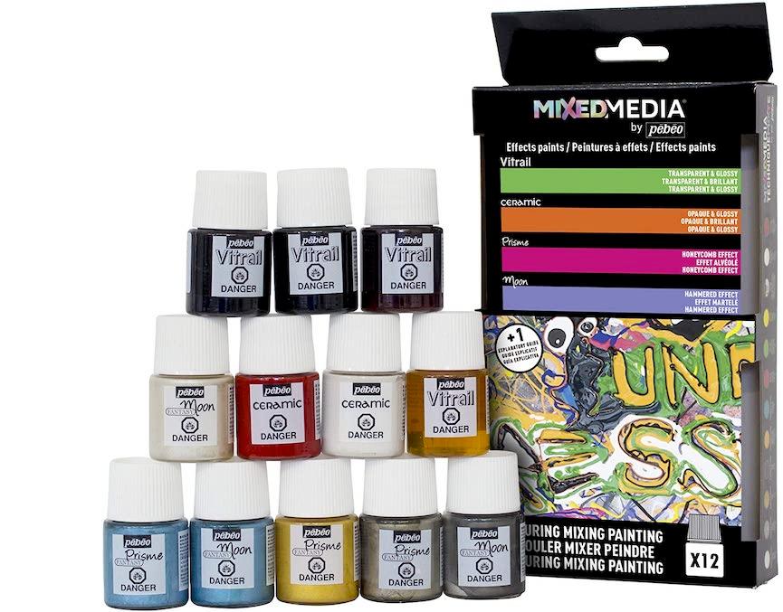 Pebeo-Farben sind anders als alle Pigmente, die Sie bisher verwendet haben.
