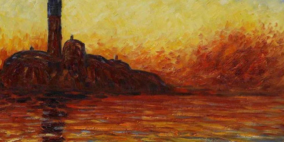 """Atelier """"Découverte d'une journée"""" – Monet : Le crépuscule"""
