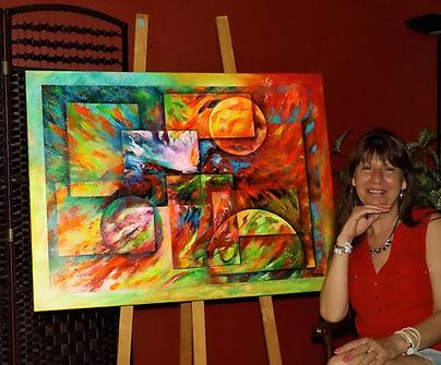 L'art abstrait vu par l'artiste peintre et enseignante Chantal Auger