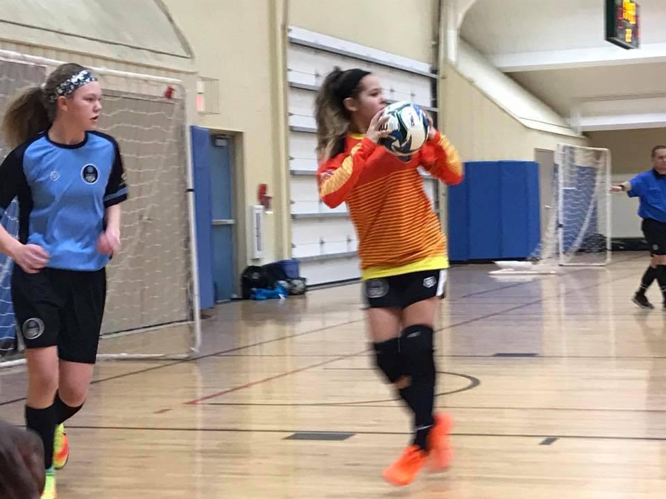 Columbus Futsal Academy Goleiro: Audrey Gibson-Zweifel #2