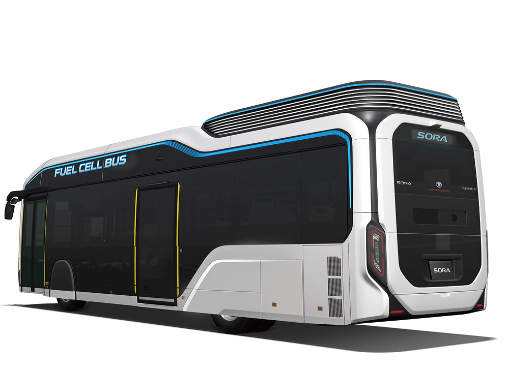 Sora Fuel Cell Bus