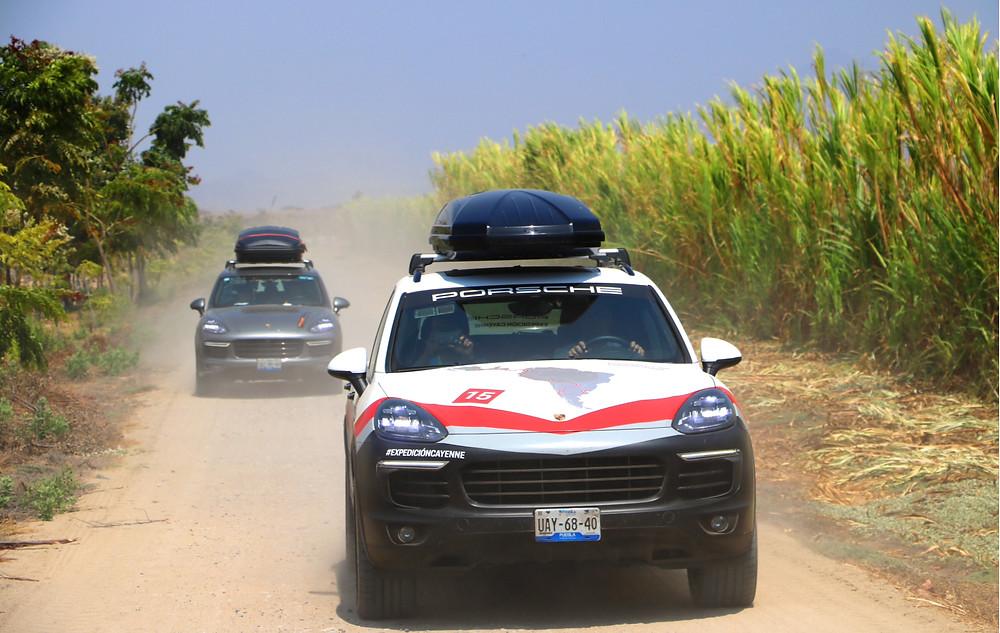 Expedición Cayenne de Porsche