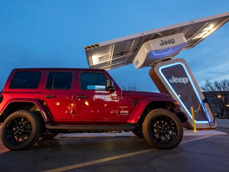 Jeep® crea la red de carga Jeep 4xe junto a Electrify America en EEUU