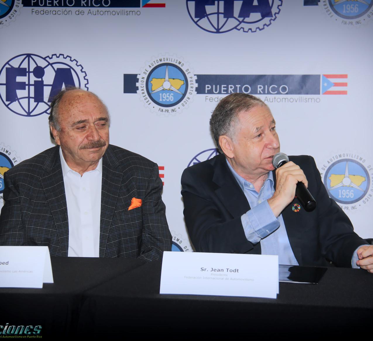 Conferencia de Prensa FiA