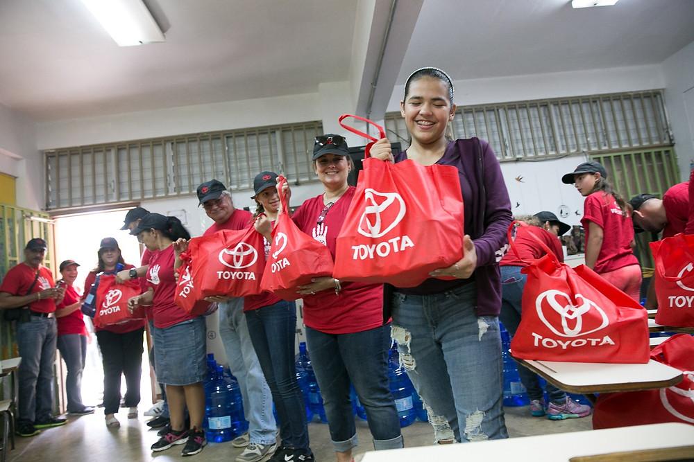 Adriana Díaz regresó a su pueblo natal de Utuado para llevar suministros
