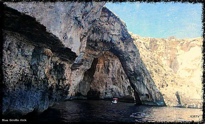 Blue Grotto Arch