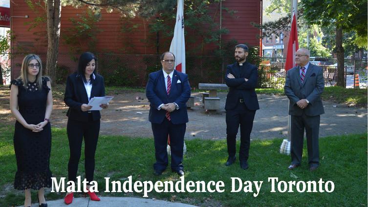 Malta Independence Day Toronto 2021
