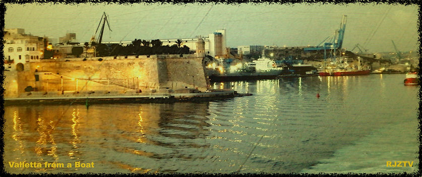 Valletta from a Boat