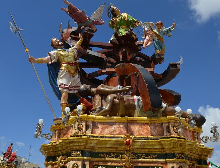 Zurrieq, Malta statue,