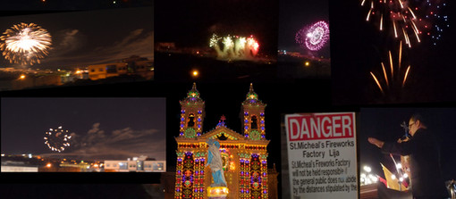 Malta Fireworks Tribute