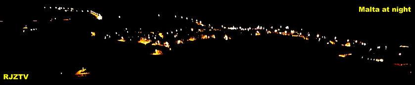 Malta at night