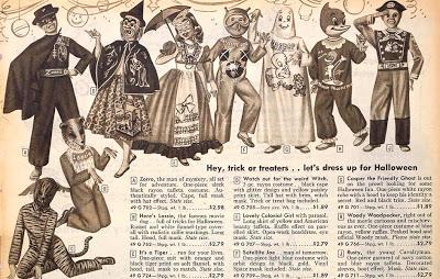 1950's Halloween ad