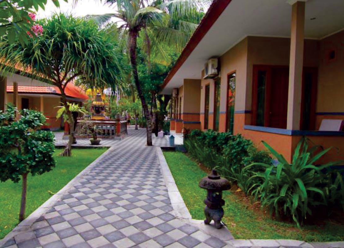 Garden view resort Legian