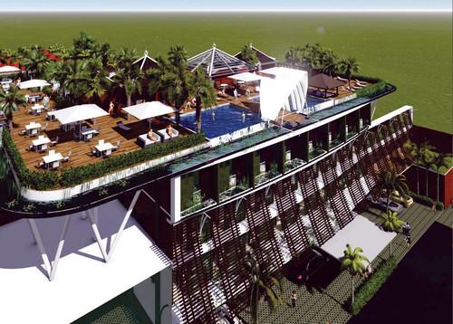 New  Garden View Beach Resort