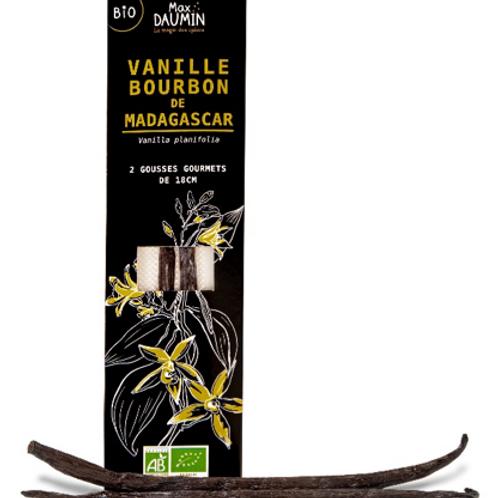 Vanille Bourbon Gourmet Bio