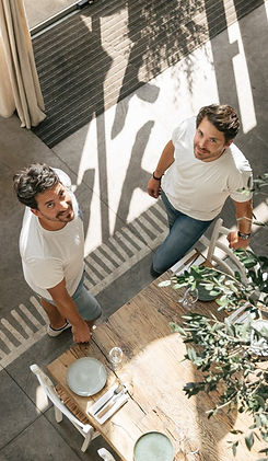 Grégory et Pierre-Julien, les frères Chantzios