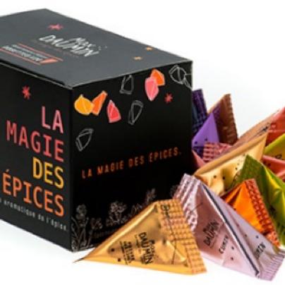"""Coffret  découverte """"la magie des épices"""""""