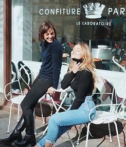 Nadège et Laura de Confiture Parisienne