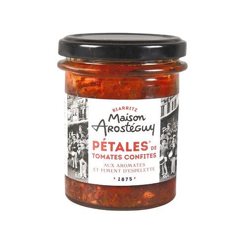 Pétales Tomates Confites au Piment d'Espelette