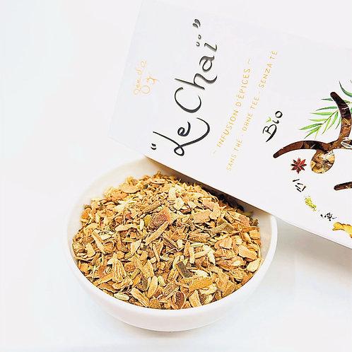Chaï sans thé - Infusion d'épices Bio