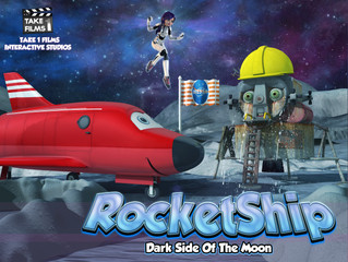 RocketShip Dark Side Of The Moon - Available on Kindle and iBooks