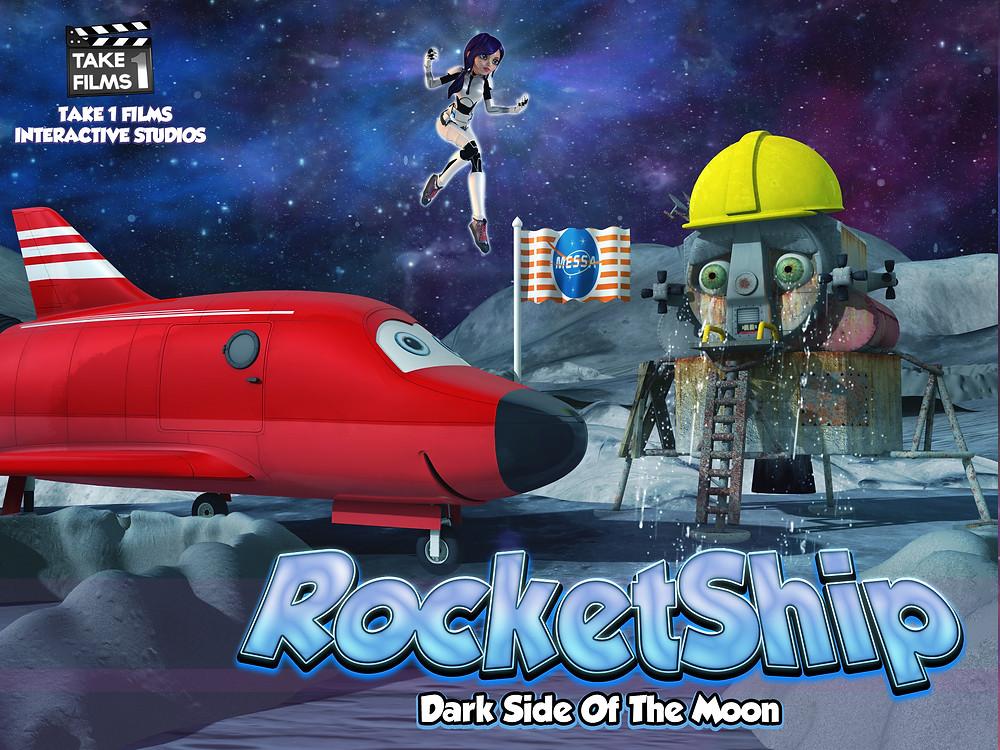 RocketShip Dark Side Of The Moon