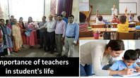Importance Of Teacher In the Development of a Student's Life
