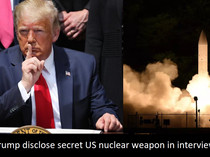 Trump's talk of new secret US nuclear weapons System