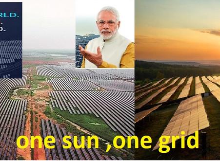 #India 'One Sun, One World, One Grid' initiative