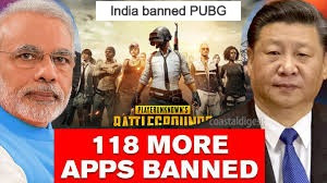 India banned PUBG Video Game App Among with 118 new Chinese Apps