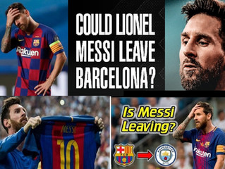 #Lionel Messi told Barcelona that he wishes to leave the club