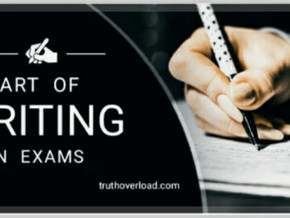ART Of Writing Answers To Give Your Best Shot In Exams