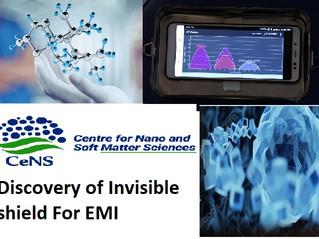 Bengaluru scientists fabricate a Invisible shield For EMI
