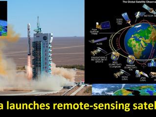 #China launches remote-sensing satellite